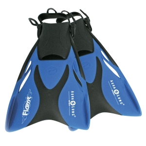 Schwimmflossen Flame 33-36 blau