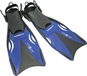 Schwimmflossen Powerflex 37-40 blau