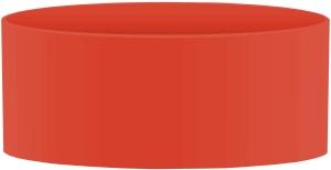 SIGG Hot&Cold Glas WMB Bodenschutz Red 0,4 Liter