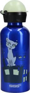 SIGG Glow-in-the-Dark Trinkflasche Night Cats 0,4 l
