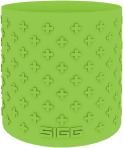 SIGG Hot&Cold Glas WMB Silikon Grip Green 0,4 Liter