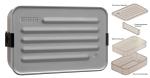 SIGG Brotdose Plus L Aluminium, aluminiumfarben