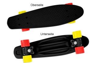 Skateboard Fizz schwarz