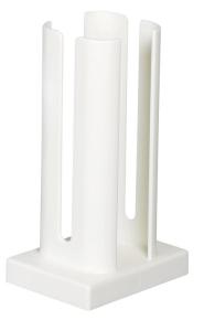 Tassenstapler, weiß, 21cm hoch