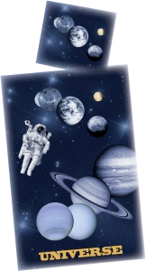 Weltall Bettwäsche UNIVERSUM, 135x200 cm
