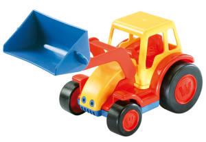WADER BASICS Traktor mit Schaufel