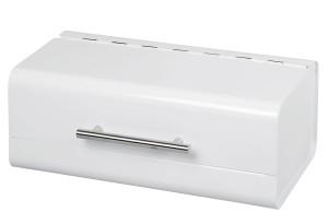 ZELLER-PRESENT Brotkasten, Metall, weiß