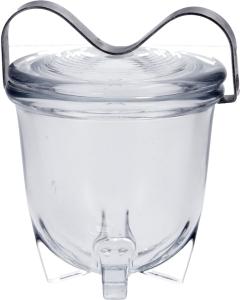 Zwiesel Kristallglas Glaseierkocher mit Deckel Nr.2